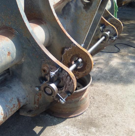 Reparación y acople de cazos